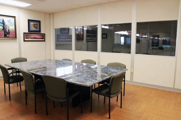 Interior of Modular Conference Room