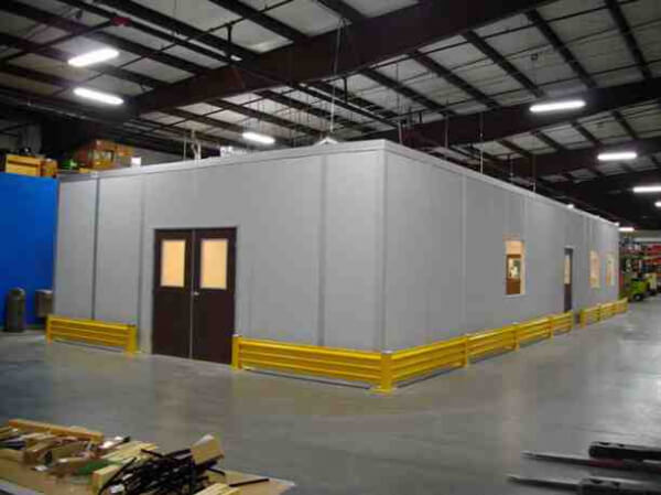 Prefabricated In-Plant Modular Office