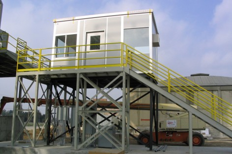 Prefabricated vision tower