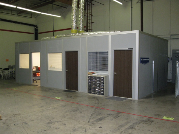 Warehouse Office for Shipping and Receiving